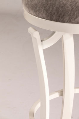Kelford Swivel Backless Barstool