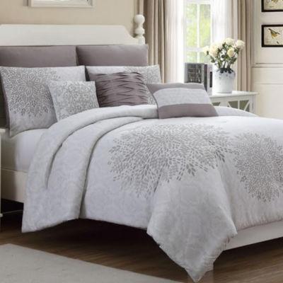 Pacific Coast Textiles 8-Piece Lace Comforter Set Devonshire