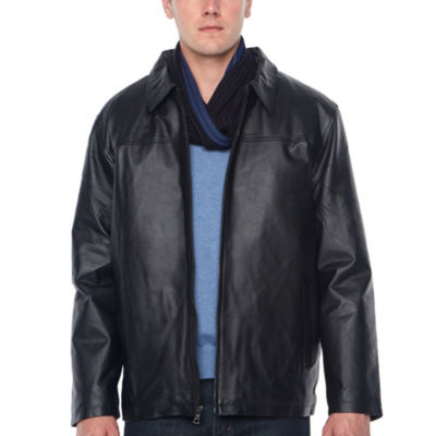 Vintage Leather Nappa Leather Jacket with Zip Out Lining