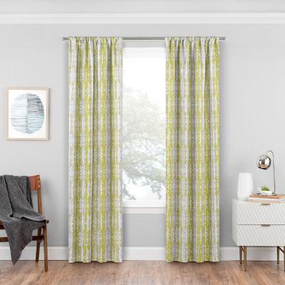 Eclipse Delaney Blackout Rod-Pocket Curtain Panel