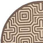 Safavieh Klara Geometric Round Indoor/Outdoor Rugs
