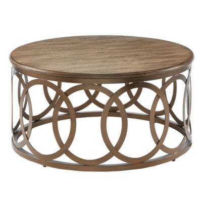 Madison Park Avarado Round Coffee Table