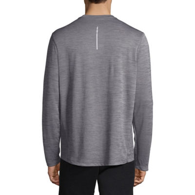 Nike Mens Crew Neck Long Sleeve Moisture Wicking T-Shirt