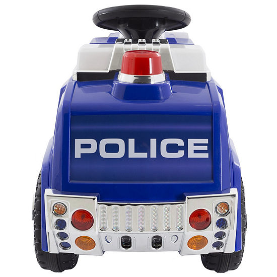 Battery Powered Ride on Police Truck