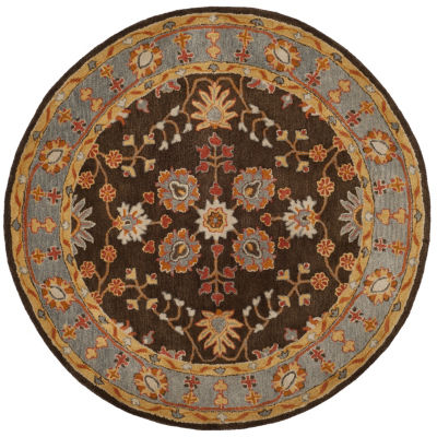 Safavieh Heritage Collection Johna Oriental Round Area Rug