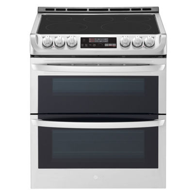 LG 7.3 cu.ft. Electric Double Oven Slide-In Range with ProBake Convection®