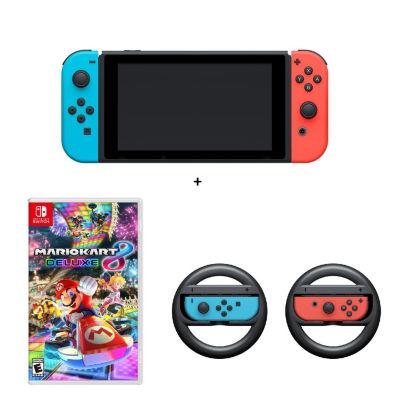 Mario Kart Nintendo Switch Bundle - Neon