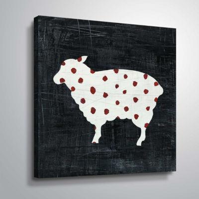 Modern Americana Farm II Gallery Wrapped Canvas
