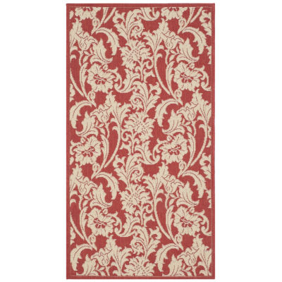 Safavieh Courtyard Collection Rosabel Oriental Indoor/Outdoor Area Rug