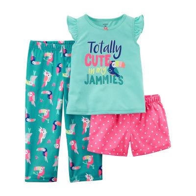 Carter's 3-pc. Pajama Sets - Preschool Girls