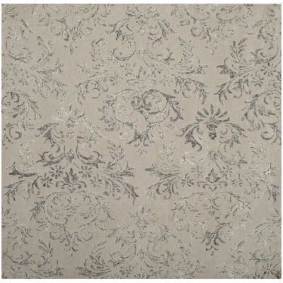 Safavieh Glamour Collection Aaron Damask Square Area Rug