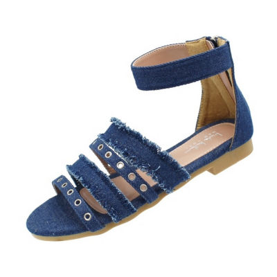 Nicole Miller Cindy Girls Strap Sandals