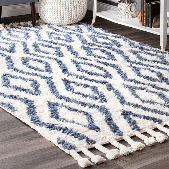 nuLoom Hand Knotted Soukey Rug