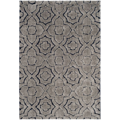 Safavieh Memphis Shag Collection Michelle Geometric Area Rug