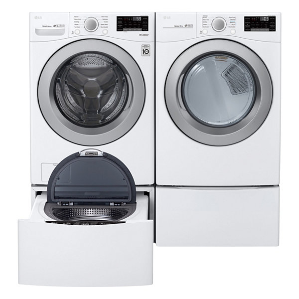 LG ENERGY STAR® 4.5 cu. ft. Smart Wi-Fi Enabled Front Load Washer