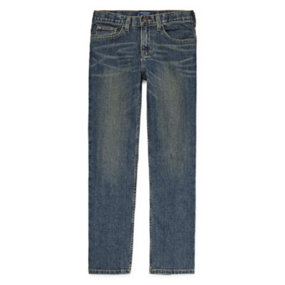 Arizona Boys Flex Stretch Straight Leg Jean Preschool / Big Kid