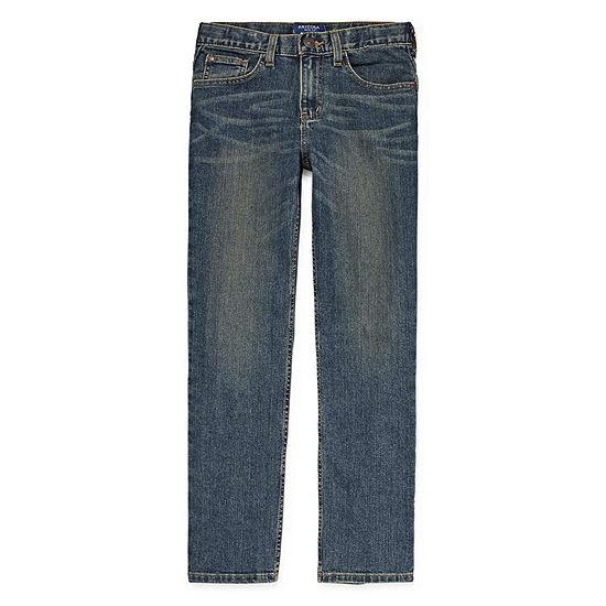 Arizona Flex Little Kid / Big Kid Boys Stretch Straight Leg Jean