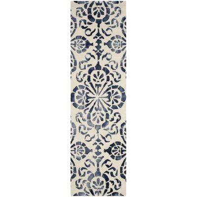 Safavieh Dip Dye Collection Vivyan Floral Runner Rug