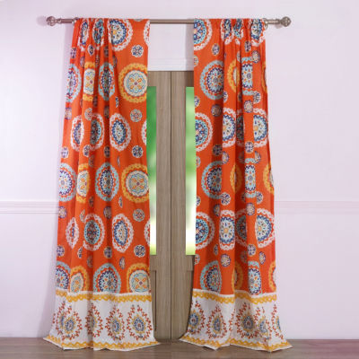 Barefoot Bungalow Rozario 2-Pack Curtain Panel
