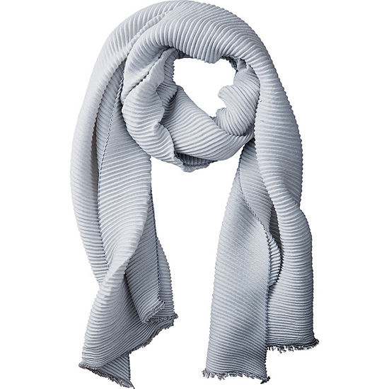 Tickled Pink Ridged Scarf