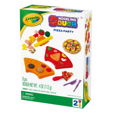 Crayola Pizza Party Modeling Dough Kit