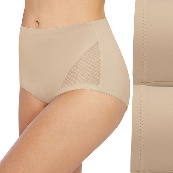 Bali Passion For Comfort Firm Control 2-Pack Control Briefs Dfx008