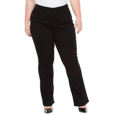 Boutique + Comfort Waist Bootcut Jean - Plus