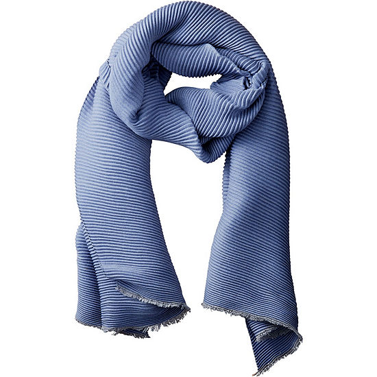 Tickled Pink Ridged Oblong Scarf