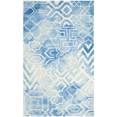 Safavieh Dip Dye Collection Venice Chevron Area Rug