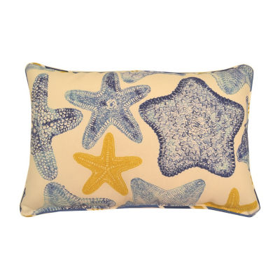 Seabiscuit Oblong Corded Outdoor Pillow