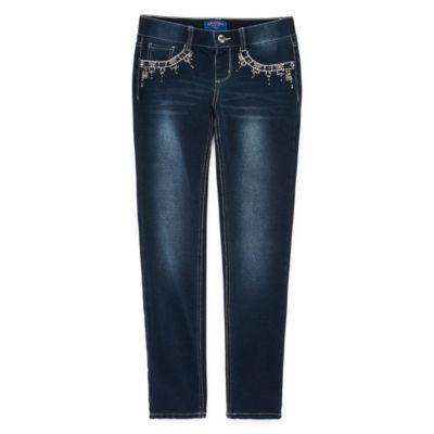 Arizona Jegging with Embellished Pockets- Girls' 4-16 & Plus