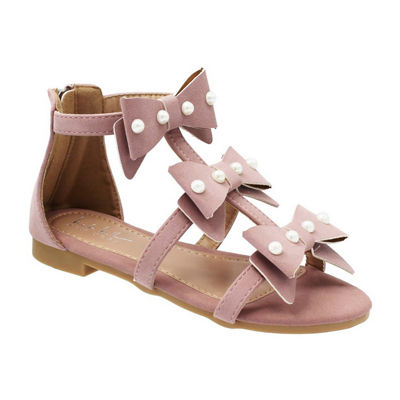 Nicole Miller Little Kid/Big Kid Girls Cindy Strap Sandals