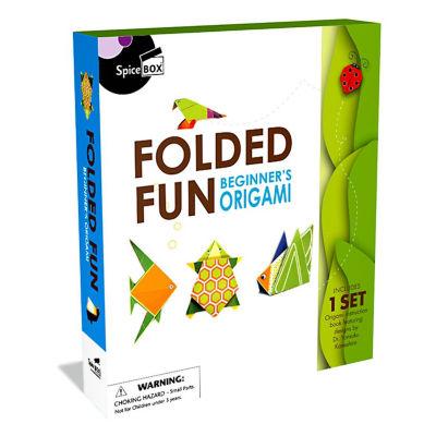 Spicebox Folded Fun Beginner'S Origami Kit