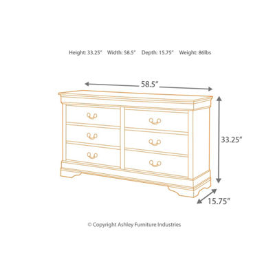 Signature Design by Ashley Rudolph 4-pc. Bedroom Set