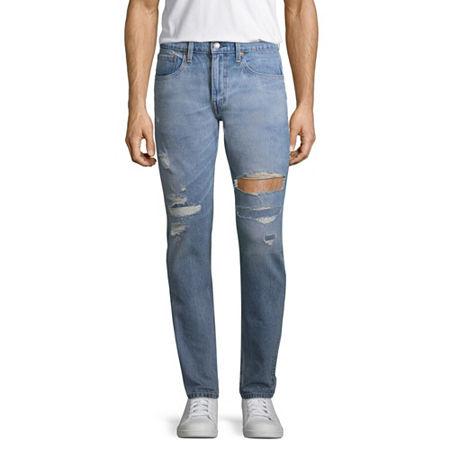 Levi's Men's 512 Slim Tapered Fit Jeans - Stretch, 36 30, Blue