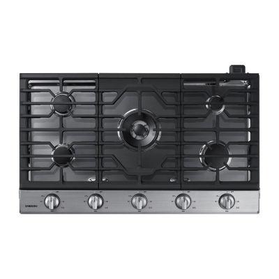 "Samsung 36"" Gas Cooktop with 19K BTU Power Burner"
