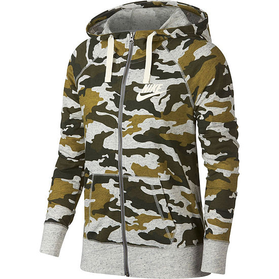 3420e06f533f Women s Nike Gym Vintage Lightweight Camo Hoodie - JCPenney