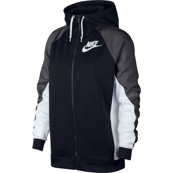 Women's Nike Colorblock Hooded Track Jacket