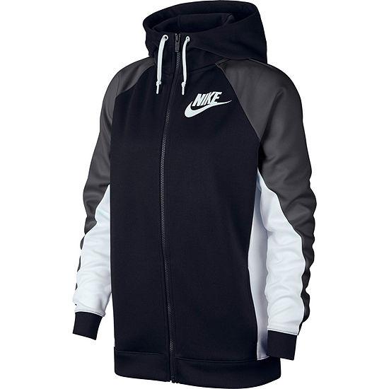dd9da8b5e Women's Nike Colorblock Hooded Track Jacket - JCPenney