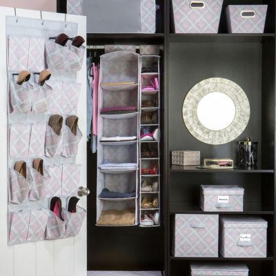 Non-Woven 6 Shelf Organizer - Ikat
