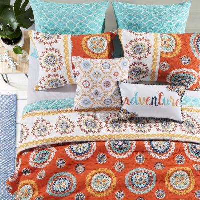 Barefoot Bungalow Rozario Quilt Set