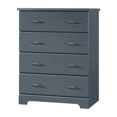 Storkcraft Brookside 4-Drawer Chest - Gray