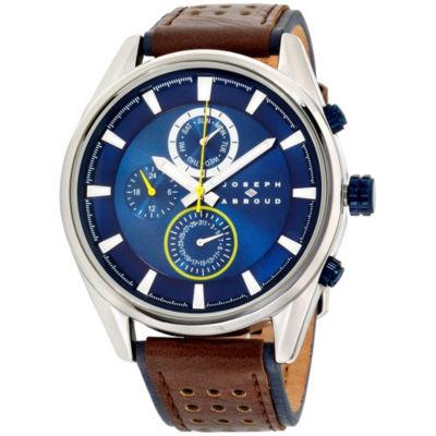 Joseph Abboud Mens Two Tone Strap Watch-Ja3205s648-709