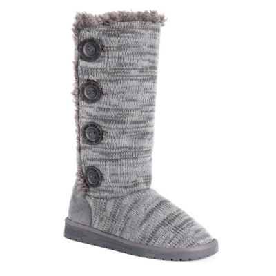 Muk Luks Womens Liza Winter Boots Pull-on
