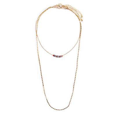 Arizona Womens 2-pack Necklace Set