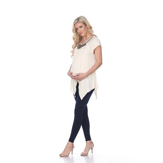 Maternity 'Myla' Embellished Tunic - Plus