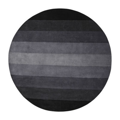 St. Croix Trading Stripes Round Rugs