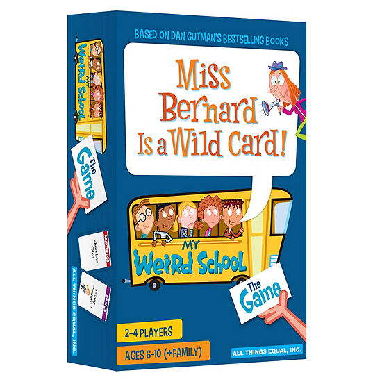 All Things Equal Miss Bernard Is A Wild Card! - The My Weird School Game