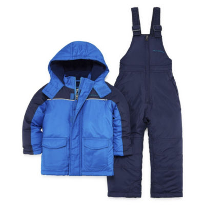 Weatherproof Heavyweight Snow Suit-Toddler Boys