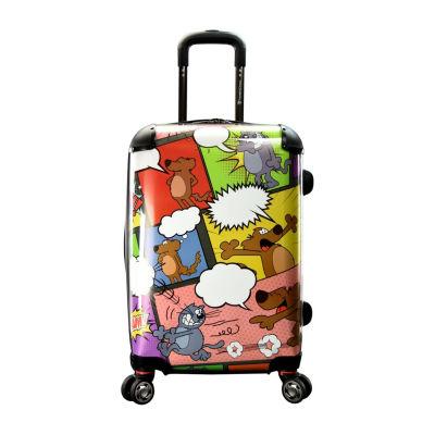 Travelers Choice Undersea 22 Inch Hardside Luggage